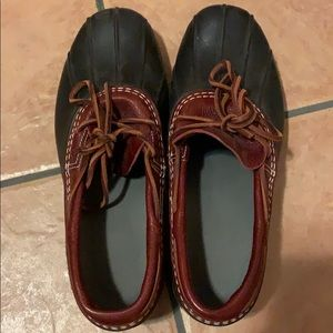 Authentic LL Bean Bean Boots - Low - 9M